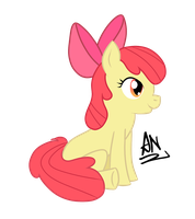 MLP: Applebloom 9/13 by x6tr2ni
