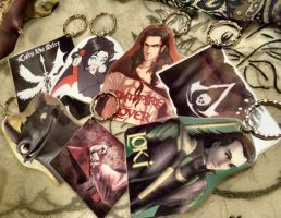 Key chains! by Destinyfall