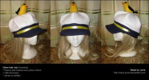 Vocaloid Oliver kids' hat by Neon-Juma