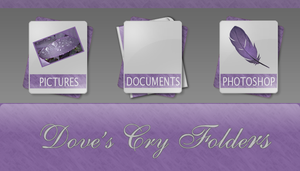 Doves Cry Folder Icons by Satans-Child