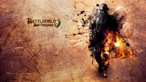 Battlefield Bad Company 2 wall by Seiikya