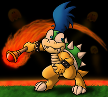 LARRY KOOPA by MetallicUmbrage