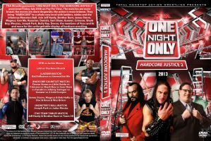 TNA One Night Only - HardCore Justice 2 DVD Cover by Chirantha