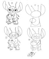Draw Stitch with Frog Buddy by Diana-Huang
