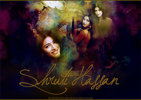 Shruti Hassan by Beauty-of-Rose