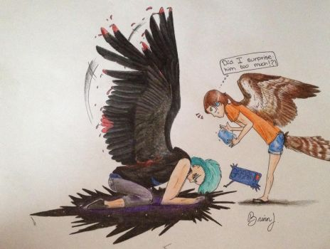 Caspian grows wings! by I-Have-Amazing-Wings