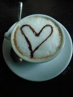 Love is in the coffee by CLOPPETEMARTH