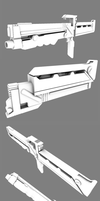 Mobile Infantry Marauder Rifle WIP by thefirewarriors