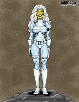 Silver Sable Trophy Wife by dwwrider