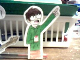 Edd and Coke can paper thingie by MaddoxPurrly
