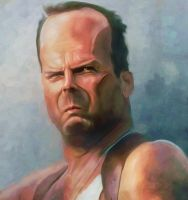 Bruce Willis by BBarends