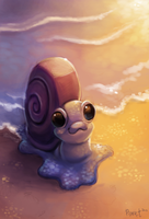 DAY 13. Sea Snail (40 Minutes) by Cryptid-Creations