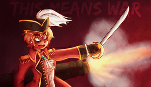 APH Pirate!England: This Means WAR by black-feather1013