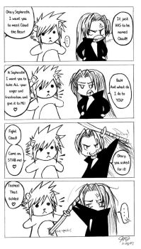 Anger Management for Sephiroth by crash-freefall