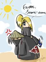 Faster, Sasori, faster... XD by Carrie-Tempest