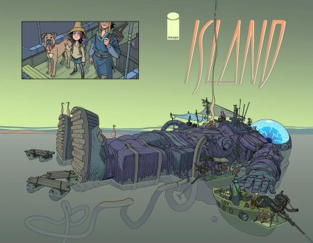 Island Magazine Cover by synthezoide