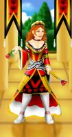 Queen of Hearts by SephirothsFlamedWing