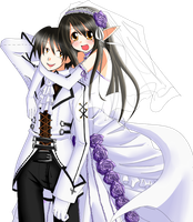 Just Married nobgversion by Terrterr