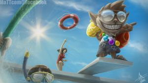 Pool Party Ziggs by MaTTcomGO