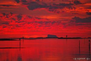 Red clouds by xprnrt