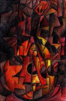 Cubism - Guitar by beprotybe
