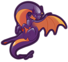 Halloween Dragon by jaclynonacloud