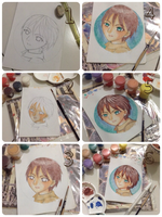 Step By Step : Eren Jaeger by sendichic