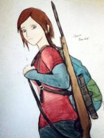 Ellie- The Last of Us by SacredCows