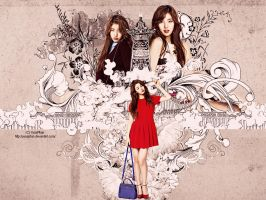 [Wallpaper] Suzy (Miss A) by YunaPhan