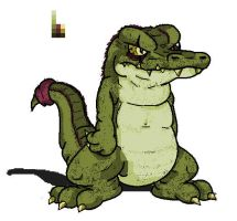 Gator Colored by Marioshi64