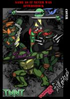 TMNT COVER  same as it never was aftershock by FleshCreature