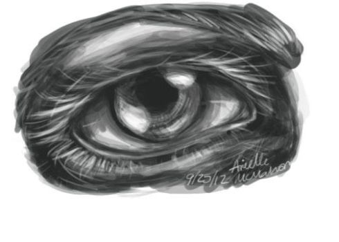 Practice eye by Cloverel