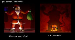 You'd better watch out... by Joshi38