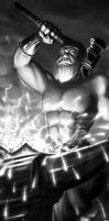 Greek god- Hephaestus by Alayna