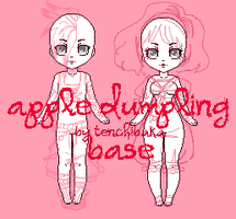 apple dumpling base p2u by tenchibaka