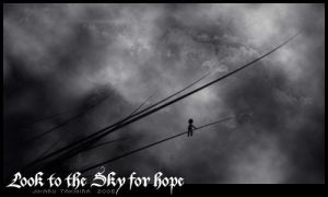 Look to the Sky for Hope by JikaruTakhira