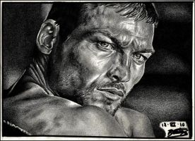 Andy Whitfield 'SPARTACUS' by ladarkfemme