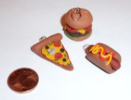 Fastfood Charms by PumpkinDream