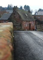The Old Toll House 'front' by tartanink
