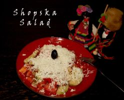 Shopska Salad by WhatsToEast