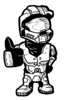 Master Chief Chibi by Kata