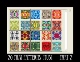 20 Thai Patterns - part 2 by mu3i