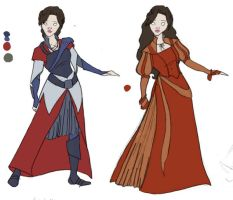 Narnia-Costume Designs II by CaribbeanMouse
