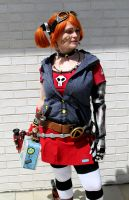 Gaige the Mechromancer Cosplay by littlemissysg