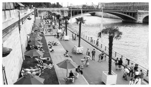 Paris Plage by Sprykritic
