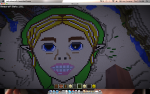 Minecraft Ben Drowned by SnuffBomb