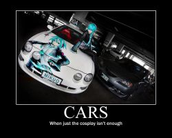 Vocaloid Cars Poster by Akira-Yui