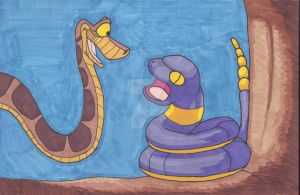 Snakes in a Tree by AlPendragon