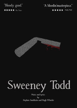 Sweeney Todd Poster by bananachip33