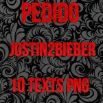 Pack pngs justin2bieber by SofiSwagJB